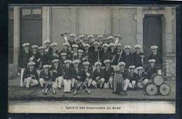 72  LE MANS Societe Des Bigophones , La Troupe - Le Mans