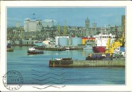Aberdeen (Scozia, Aberdeenshire, U.K.) The Harbour, Le Port, Porto, Der Hafen - Aberdeenshire