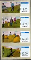 FAROER 2020 Frankeerlabels PF-MNH - Faroe Islands