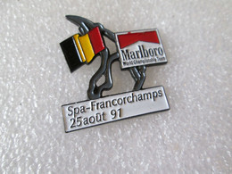 PIN'S   FORMULE 1   MARLBORO  WORLD CHAMPIONSHIP TEAM  GRAND PRIX  SPA  FRANCORCHAMPS 1991 - F1