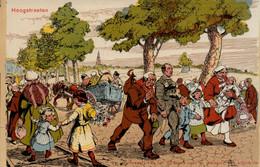 Hoogstraeten: Bedevaart Van Het H. Bloed Naar Schilderij Van Alfred Van Ost - Hoogstraten
