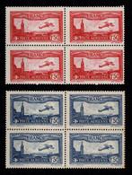 YV PA 5 & 6 N** En Blocs De 4 , Cote 376+ Euros - 1927-1959 Ungebraucht