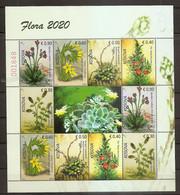 KOSOVO,2020 FLORA,PLANTS,VIGNETTE,,MNH - Kosovo