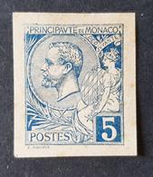 Monaco - Timbre(s) Non Dentelé (reproduction?) Nsg(*) - TB - 1 Scan(s) - D0126 - Unused Stamps
