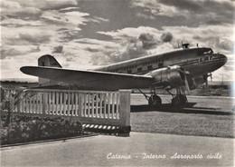 4926 - CATANIA - INTERNO AEROPORTO CIVILE CON AEREO LINEE AEREE ITALIANE (LAI) - Catania