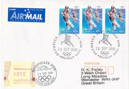 Australia Cover 2000 Sydney Olympic Games - Hockey (G132-38) - Summer 2000: Sydney