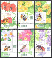 Poland 2021 - Beneficial Insects  - Mi.5292-97A - MNH(**) - Ongebruikt