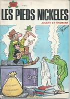 """LES PIEDS NICKELES  N° 103  """" JOUENT ET GAGNENT """" - PELLOS - E.O - 1980  JEUNESSE JOYEUSE - Pieds Nickelés, Les"""
