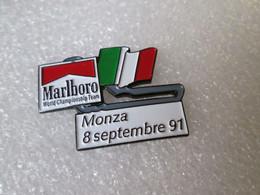 PIN'S   FORMULE 1   MARLBORO  WORLD CHAMPIONSHIP TEAM  GRAND PRIX  MONZA 1991 - F1