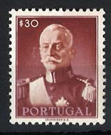 Portugal Stamps |1945 | President Carmona (30c) | #653 | MNH OG - Unused Stamps
