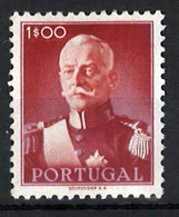 Portugal Stamps |1945 | President Carmona (1E) | #656 | MH OG - Unused Stamps