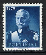 Portugal Stamps |1945 | President Carmona (1.75E) | #657 | MH OG - Unused Stamps