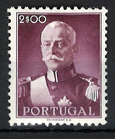 Portugal Stamps |1945 | President Carmona (2E) | #658 | MH OG - Unused Stamps