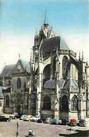 72 - La Ferté Bernard - Eglise Notre-Dame Des Marais - Place Carnot - Automobiles - CPM - Voir Scans Recto-Verso - La Ferte Bernard