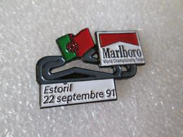 PIN'S   FORMULE 1   MARLBORO  WORLD CHAMPIONSHIP TEAM  GRAND PRIX  ESTORIL   1991 - F1
