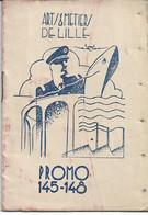 """LILLE NORD ARTS ET METIERS Carnet De La Promo 145-148 Vignette Du Centenaire 1847-1947 Liste Des """"Gadz'Arts  De La Promo - Altri"""