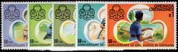 Grenada Grenadines 1976 Girl Guides Unmounted Mint. - Grenada (1974-...)