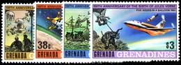Grenada Grenadines 1979 Jules Verne Unmounted Mint. - Grenada (1974-...)