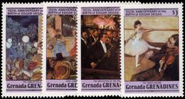 Grenada Grenadines 1984 Degas Unmounted Mint. - Grenada (1974-...)