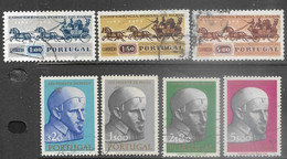 Portugal   1963   Sc#906-12  Sets  Used  2016 Scott Value $3.85 - Used Stamps