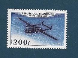 FRANCE Poste Aérienne  1954      N° 31    NEUF - 1927-1959 Mint/hinged