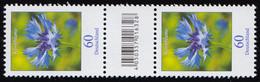 3468 Kornblume 60 Cent Aus 200er, Paar Mit Nummer, Codierfeld, Ohne Nummer ** - Roulettes