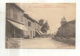 517. Decazeville, Les Estaques Sur La Route De Livinhac - Decazeville