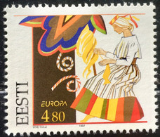 ESTONIA 1997 MNH STAMP ON EUROPA TALES & LEGENDS,WOMEN  IMAGE   STAMP - Estonia