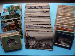 Lot Postkaarten ( +/- 3,5 KG. ) Zie / Voir Photos AUB / SVP( Kleine En Grote Kaarten + Kleine Carnets ) LUXEMBOURG ! - Autres