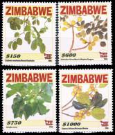 Zimbabwe 0608/09 Arbre , Graine , Feuille - Ohne Zuordnung