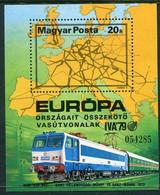 HUNGARY 1979 International Transport Exhibition Block MNH / **.  Michel Block 137 - Ungebraucht