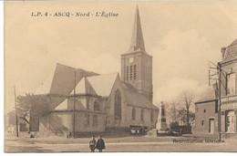 CPA NORD  ASCQ L'Eglise  LP N°4 - Villeneuve D'Ascq