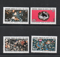 MINERALS   - AFARS & ISSAS - 1971-  GEOLOGY SET OF 4  MINT NEVER HINGED   SG CAT £35 - Minerales