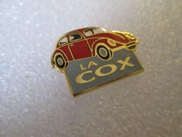 TOP  PIN'S     VOLKSWAGEN    COCCINELLE   LA COX        Email Grand Feu  FB - Volkswagen