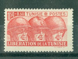 TUNISIE - N° 249** MNH  LUXE SCAN DU VERSO. Libération. - Ongebruikt