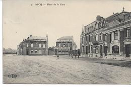 CPA NORD  ASCQ Place De La Gare ELD N°4 - Villeneuve D'Ascq