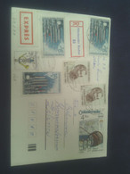 Letter, Used, ČSSR II, Recommended, Expres,  Mixed Franking, Price: 5 Eur; - Brieven En Documenten