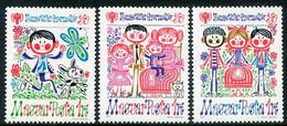 HUNGARY 1979 Year Of The Child MNH / **.  Michel 3335-37 - Ungebraucht