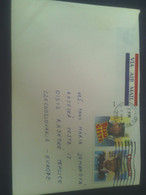 Letter, Used, USA, Air,  Mixed Franking, Price: 4 Eur; - Brieven En Documenten