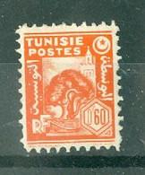 TUNISIE - N° 252** MNH  LUXE SCAN DU VERSO. - Ongebruikt