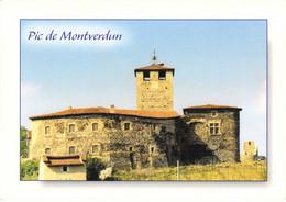 42 - Montverdun - Pic - Eglise Des XIIe Et XVe Siècles - Other Municipalities
