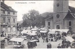 CHAMPAGNOLE, Le Marché. - Champagnole