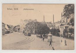 Wien XIX. , Nussdorf , 1914  ,  Strassenbahn ,   Schienen , Tramway - Other