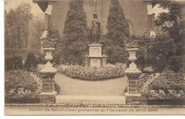 CPA NORD  ANNAPPES Institution Saint-Jean Statue Du Sacré-Coeur Préservé De L'incendie En Avril 1896 - Villeneuve D'Ascq