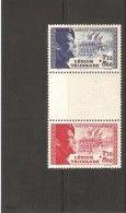 Pour La Légion 1942 Paire Avec Intervalle Neuf ** - Unused Stamps