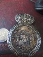 MEDAILLE 5 PESETAS ALFONSO XII POR LA G. DE DIOS VOIR PHOTOS - Royal/Of Nobility