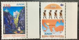 BOSNIA & HERZEGOVINA  1997 MNH STAMP ON EUROPA TALES & LEGENDS 2 DIFFERENT STAMPS - Bosnia And Herzegovina