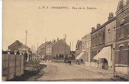 CPA NORD  ANNAPPES Rue De La Station - Villeneuve D'Ascq
