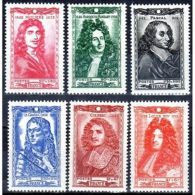 Série Complète Célébrités De 1944 Neufs ** - Unused Stamps