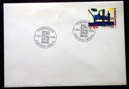 FAROE ISLANDS 2000  Special Cancel Cover  EXPO 2000  Minr.377  ( Lot  2443  ) - Faroe Islands
